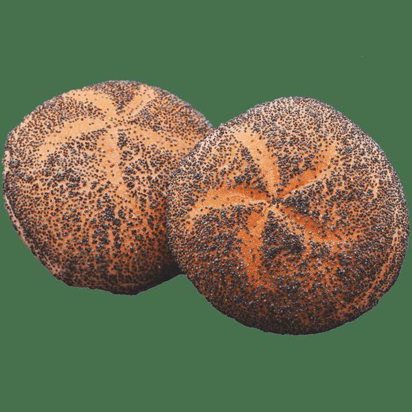 Mohnbrötchen Detail