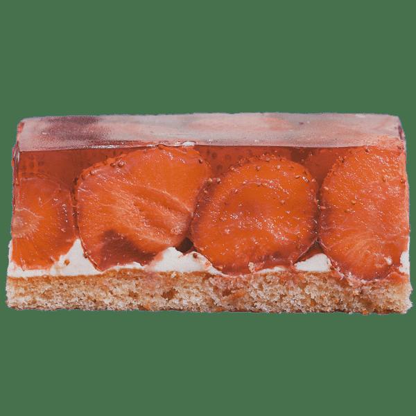 Erdbeerschnitte Bild Shop