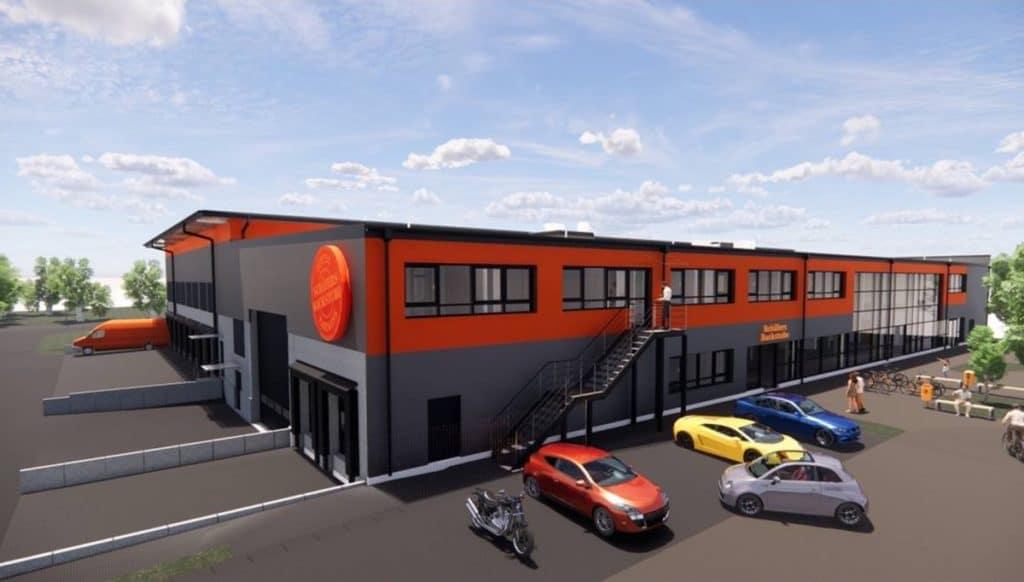 Unsere neue Produktionshalle Unsere neue Produktionshalle